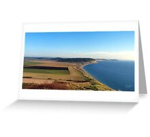 Ebey's Landing Four Greeting Card