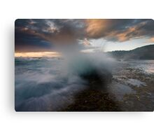 Spray Point Metal Print