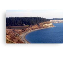 Ebey's Landing Three Canvas Print