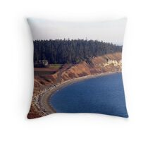Ebey's Landing Three Throw Pillow
