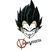 V of Vegeta by tomatosoups