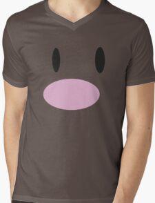 Diglett Mens V-Neck T-Shirt