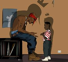 Pac & Kendrick by ARSofficial