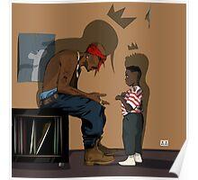 Pac & Kendrick Poster