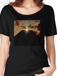 2001: A Space Odyssey - Earth Monolith Women's Relaxed Fit T-Shirt