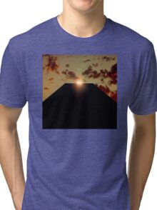 2001: A Space Odyssey - Earth Monolith Tri-blend T-Shirt