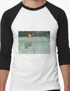 Tennis Cats Men's Baseball ¾ T-Shirt