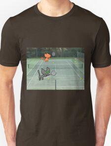 Tennis Cats Unisex T-Shirt