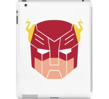 The Flash in Transformers iPad Case/Skin
