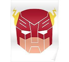 The Flash in Transformers Poster