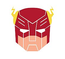 The Flash in Transformers Photographic Print