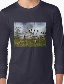 Wild Flowers, Eastern England Long Sleeve T-Shirt