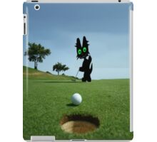 Cat Sinks A Putt iPad Case/Skin