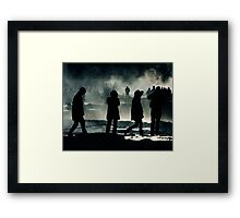 Lost In Iceland Framed Print