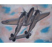 p38 Lightning -- WWII Fighter Photographic Print
