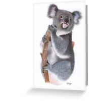 Miss Adorable Greeting Card