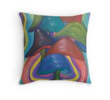Shroom Closure Throw Pillow