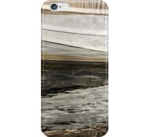 Abstract Wavy Reflections iPhone Case/Skin