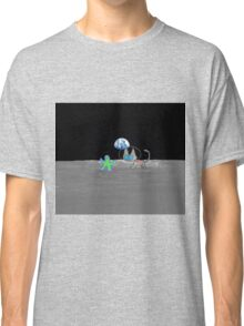 Kitten's Moon Chase Game  Classic T-Shirt