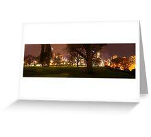 Flagstaff Gardens Panorama Greeting Card