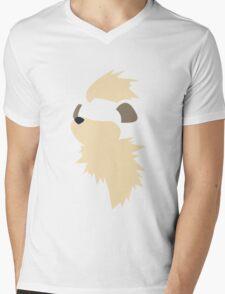 Growlithe Mens V-Neck T-Shirt