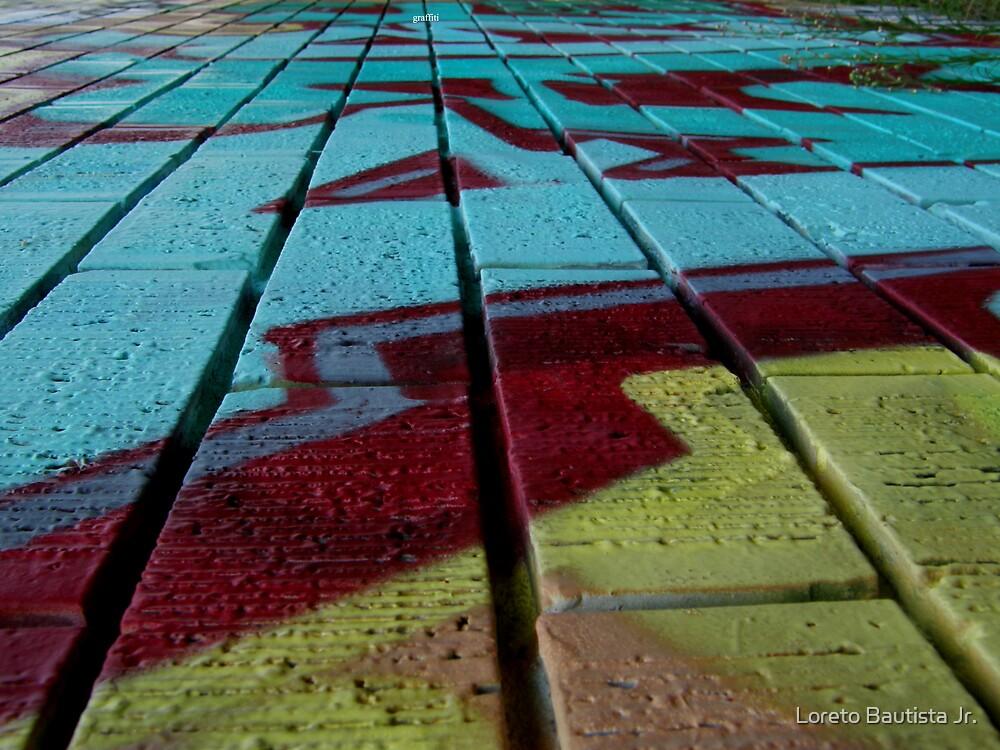 graffiti in perspective by Loreto Bautista Jr.