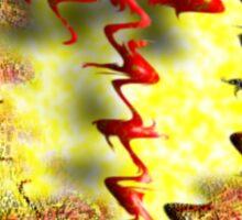 ~vermillion aureate~ Sticker