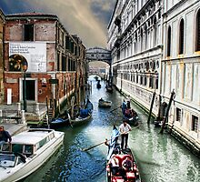 Venice Waterway by Dennis Granzow