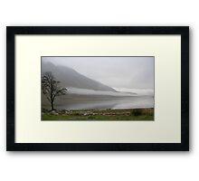 Cloud over Loch Etive Framed Print