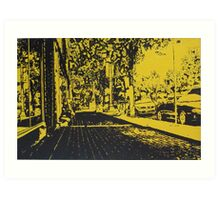 The Avenue Art Print