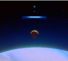 2001: A Space Odyssey - Planets Allign by Sunwatcher