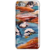 Forrest Moses Interpretation New Mexico acrylics on canvas board iPhone Case/Skin