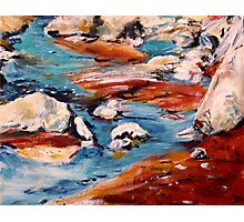 Forrest Moses Interpretation New Mexico acrylics on canvas board Photographic Print
