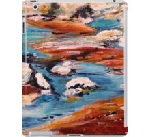 Forrest Moses Interpretation New Mexico acrylics on canvas board iPad Case/Skin