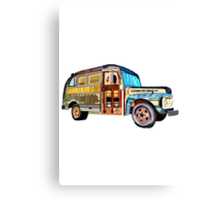 The 1952 Ford Bus Canvas Print