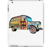 The 1952 Ford Bus iPad Case/Skin