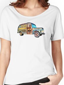 The 1952 Ford Bus Women's Relaxed Fit T-Shirt