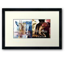 HIVE-MIND -THE NEAR DEATH ALBUM COVER I Framed Print