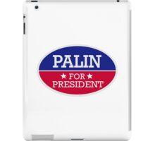 Palin for President iPad Case/Skin