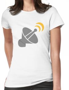 Satellite Womens Fitted T-Shirt