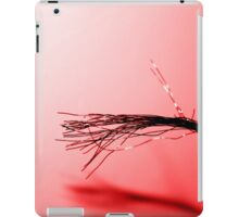 Red Copper Exposed Wire Art iPad Case/Skin