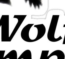 Wolf Temper Sticker