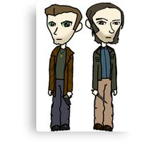 Dean & Sam Canvas Print