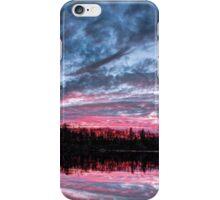 Dramatic Sunset Pond iPhone Case/Skin