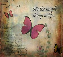 It's the simple things in live by TimPalmer