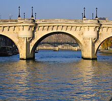 Pont Neuf Morning by MIKEF