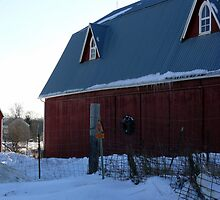 Two barns in one by Jellybean720