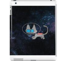 Blue Eyed Cat In Space iPad Case/Skin