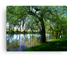 """""""The Willow"""" Canvas Print"""