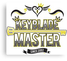 Keyblade Master 2.0 Canvas Print